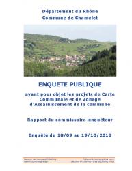 Rapport Chamelet carte communale